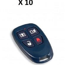 DSC1210010 DSC DSC WS4939 10PACK - 10 Llaveros de 4 botones