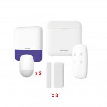 Dspwa48kv2 Hikvision AX PRO KIT De Alarma AXP RO / Incluye