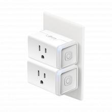 Hs105kit Tp-link Kit De 2 Mini Tomacorriente Inteligente Wi-