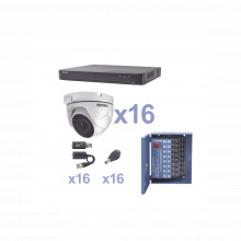 Kevtx8t16ew Epcom KIT TurboHD 1080p / DVR 16 Canales / 16 Ca