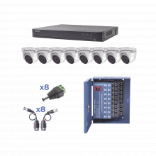 Kevtx8t8ew Epcom KIT TurboHD 1080p / DVR 8 Canales / 8 Camar