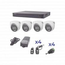 Kh1080p4ec Hikvision KIT COLORVU TURBOHD 1080p / DVR 4 Canal