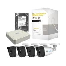 Khl4b1tb Hikvision Kit IP 1080p / NVR De 4 Canales / 4 Camar
