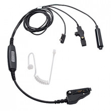 Khs12bl Kenwood Microfono Con Audifono 3 Cables Color Negro
