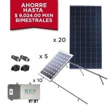 Kit10bdm600poli Epcom Kit Solar Para Interconexion De 5.5 KW