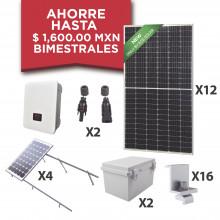 Kitepcom5k450 Syscom Kit Solar Para Interconexion De 5 KW De