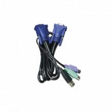 Kvmkc118 Planet Cable Para KVM De 1.8 Mts montajes para pant