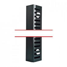 Lpcv21urm Linkedpro Organizador De Cable Vertical Mediano De
