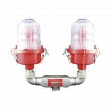 Ol2vled3ir Twr Lampara De Obstruccion Roja Tipo L-810 Doble