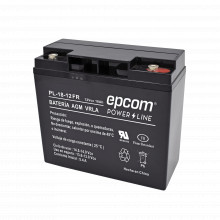 Pl1812fr Epcom Powerline Bateria Con Tecnologia AGM / VRLA