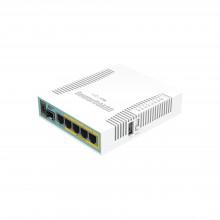 Rb960pgs Mikrotik hEX PoE Routerboard 5 Puertos Gigabit Et