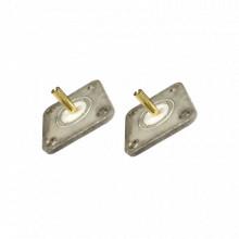 Rfa4046a Rf Industriesltd Adaptadores Unidapt Macho 2 Piez