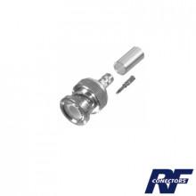 Rfb11071x Rf Industriesltd Conector BNC Macho De Anillo Par