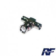 Rfb1130 Rf Industriesltd Adaptador En T Para 50 Ohm De BNC