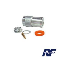 Rfn10021si Rf Industriesltd Conector N Macho De Rosca Para