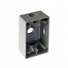 Rr0282 Rawelt Caja Condulet FS De 3/4 19.05mm Con Tres Boc
