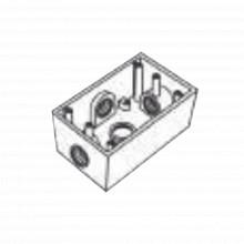 Rr2747 Rawelt Caja Condulet FS De 1 25.4 Mm Con Cuatro Boc