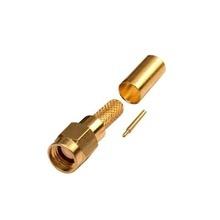 Rsa30001c Rf Industriesltd Conector SMA Macho De Anillo Ple