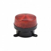 Sfstrr Sfire Mini Estrobo Color Rojo Con Montaje De Pestana