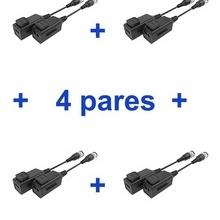 TVT4450042 UTEPO UTEPO UTP101PHD6PAK4 - 4 Pares de transcept