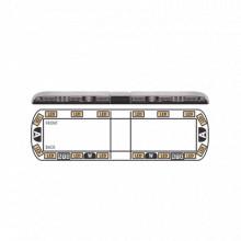 Vtg54a16 Ecco Torreta ambar De 54 Vantage 16 LED 2 Luces D