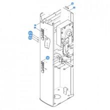 119rig171 Came Refaccion / Gabinete Para Barrera GARD4 refac