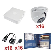 Kh720p16ew Hilook By Hikvision KIT TurboHD 720P / Incluye DV