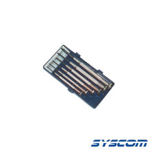 34041 Syscom TS59 Juego De Desarmadores Planos Tipo Reloje