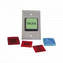 972lesmo Rci - Dormakaba Boton De Salida / MULTIPLES Placas/