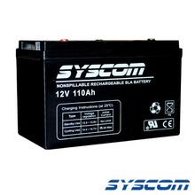 Asbp110a Syscom Acumulador 12 Vcd 110 Ah. Tecnologia AGM.