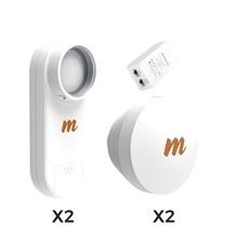 C5xptpkit2 Mimosa Networks Kit De 2 Radios C5X Con 2 Antenas