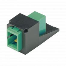 Cmsagsczbl Panduit Modulo Acoplador SC/APC Simplex Para Fib