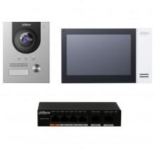 DHT2220011 DAHUA DAHUA KITKTP01S - Kit de Videoportero IP co
