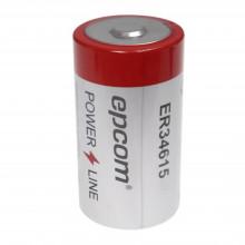 Er34615 Epcom Powerline Bateria De 3.6V A 19Ah Li-SOCI2 Tama