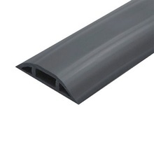 Flexiducthobk Thorsman Canaleta Flexible Color Negra De PVC