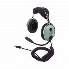 H1013h David Clark Auriculares Con Atenuacion De Ruido Pasiv