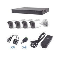 Kevtx8t4bw Epcom KIT TurboHD 1080p / DVR 4 Canales / 4 Camar