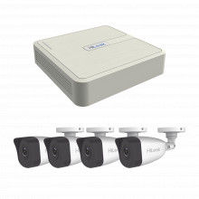 Kip4mp4b Hilook By Hikvision KIT IP 4 Megapixel / NVR De 4 C