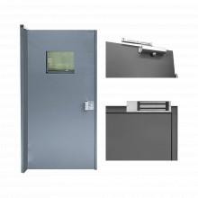 Kitpbvt3b Accesspro Kit De Puerta Con Mirilla Nivel III Sub