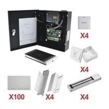 Kittarjeta04 Hikvision Kit De Control De Acceso Con TARJETA