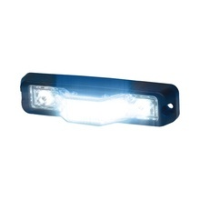 M180sb Code 3 Luz Perimetral Ultra Brillante Color Azul roj