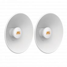 N5x202pack Mimosa Networks Par De Antenas Modulares Dual Sla