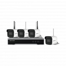 Nk42w0h1twdd Hikvision 120 Metros Inalambricos Kit IP Inal