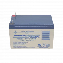 Ps12120nb Power Sonic Bateria De Respaldo UL De 12V 12AH / I