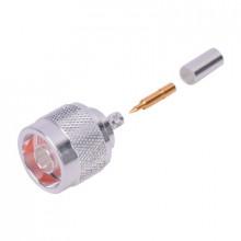 Rfn10053c1 Rf Industriesltd Conector Coaxial N Macho De Ani