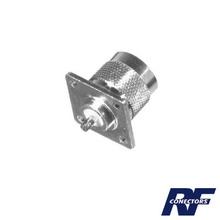 Rfn10411 Rf Industriesltd Conector N Macho Para Montaje En