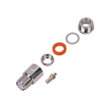 Rfu5201e Rf Industriesltd Conector UHF Hembra SO-239 Para