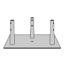 Rohn Bpc25g Placa Base Para Torre Seccion 25G. accesorios pa