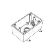 Rr2745 Rawelt Caja Condulet FS De 1 25.4 Mm Con Dos Bocas