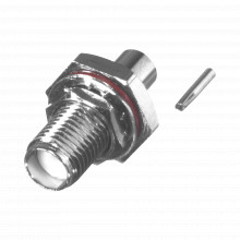Rsa35601047 Rf Industriesltd Conector SMA Hembra Hermetico